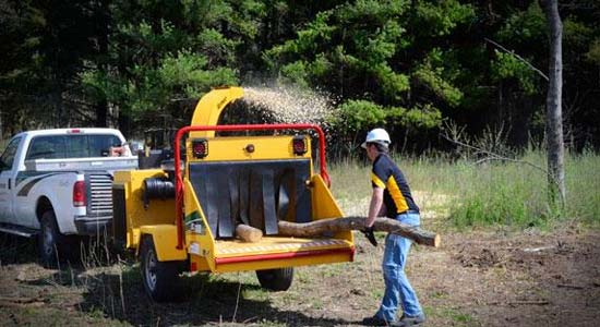 The Tree Man - Chipper Hire Nowra