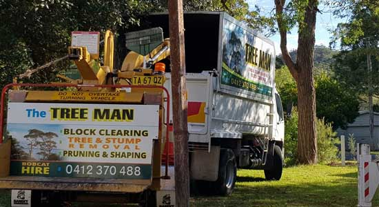 The Tree Man - Chipper HIre Shoalhaven