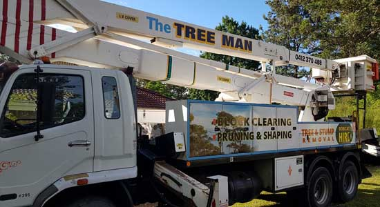 The Tree Man - Tree Removal Shoalhaven